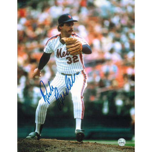 MLB - Rick Anderson New York Mets Autographed 8x10 Photograph - Windup-