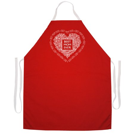 Best Mom Ever Aprons by LA Imprints Novelty Gift Kitchen Bar Grill Humor Funny
