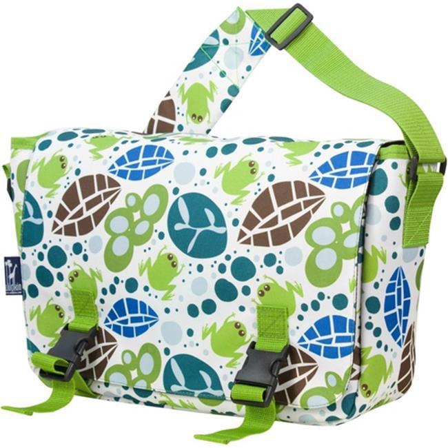 Wildkin 54117 Lily Frogs Jumpstart Messenger Bag - Ashley Rosen