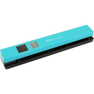 IRIS 458845 can Anywhere Wireless Portable Scanner Turquoise