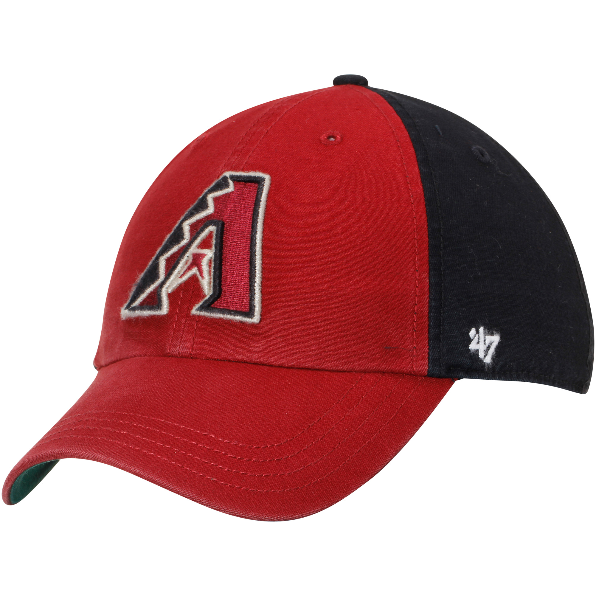Arizona Diamondbacks '47 Flagstaff Clean Up Adjustable Hat - Red/Black - OSFA