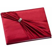 Lillian Rose Red Satin Sash Guest Book