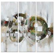 Gild Virtually There 3 Piece Original Painting on Canvas Set