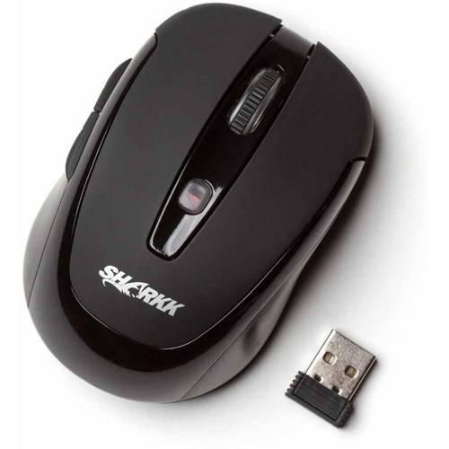 SHARKK Compact High-Precision Wireless Optical Mouse for Laptops and PCs