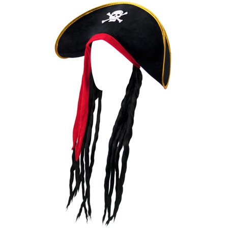 Dredlock Hat (Brybelly Pirate Hat with)