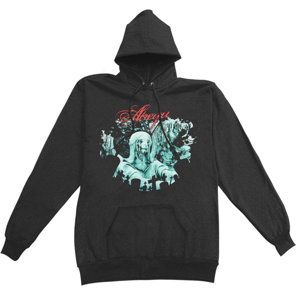 Atreyu Men's  Hooded Sweatshirt Black