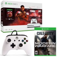 Microsoft Xbox One S 1 TB NBA 2K20 Bundle + Fifa 20 for Xbox One + Wired Controller