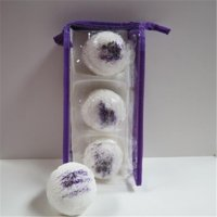 Dead Sea Spa Care DeadSea-BBTLP01 Lavender Pomegranates Bubble Bath Truffles - Pack of 3