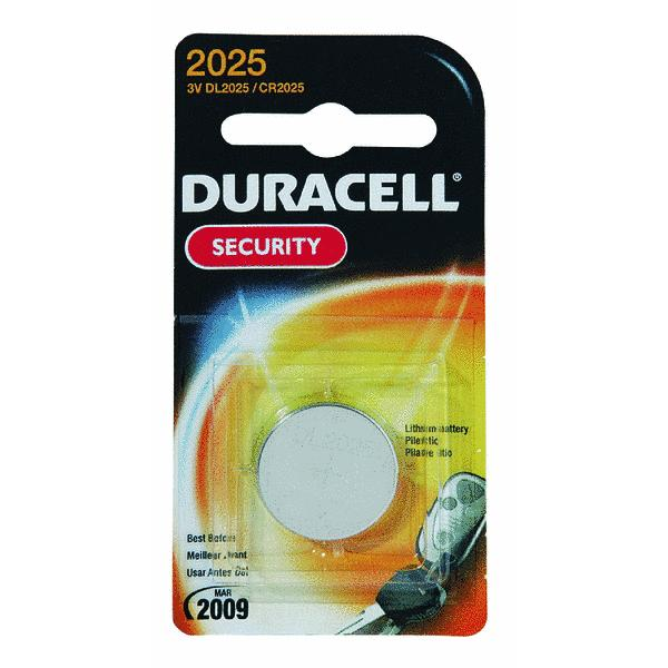 Duracell 3 Volt Lithium Security 2025 Battery