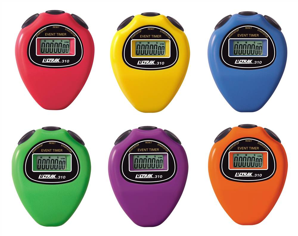 6 Pc Economical Event Timer Stopwatch by Craig Enterprises Inc