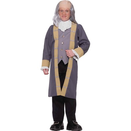 Ben Stiller Dodgeball Costume (Morris costumes FM63886 Ben Franklin Child)