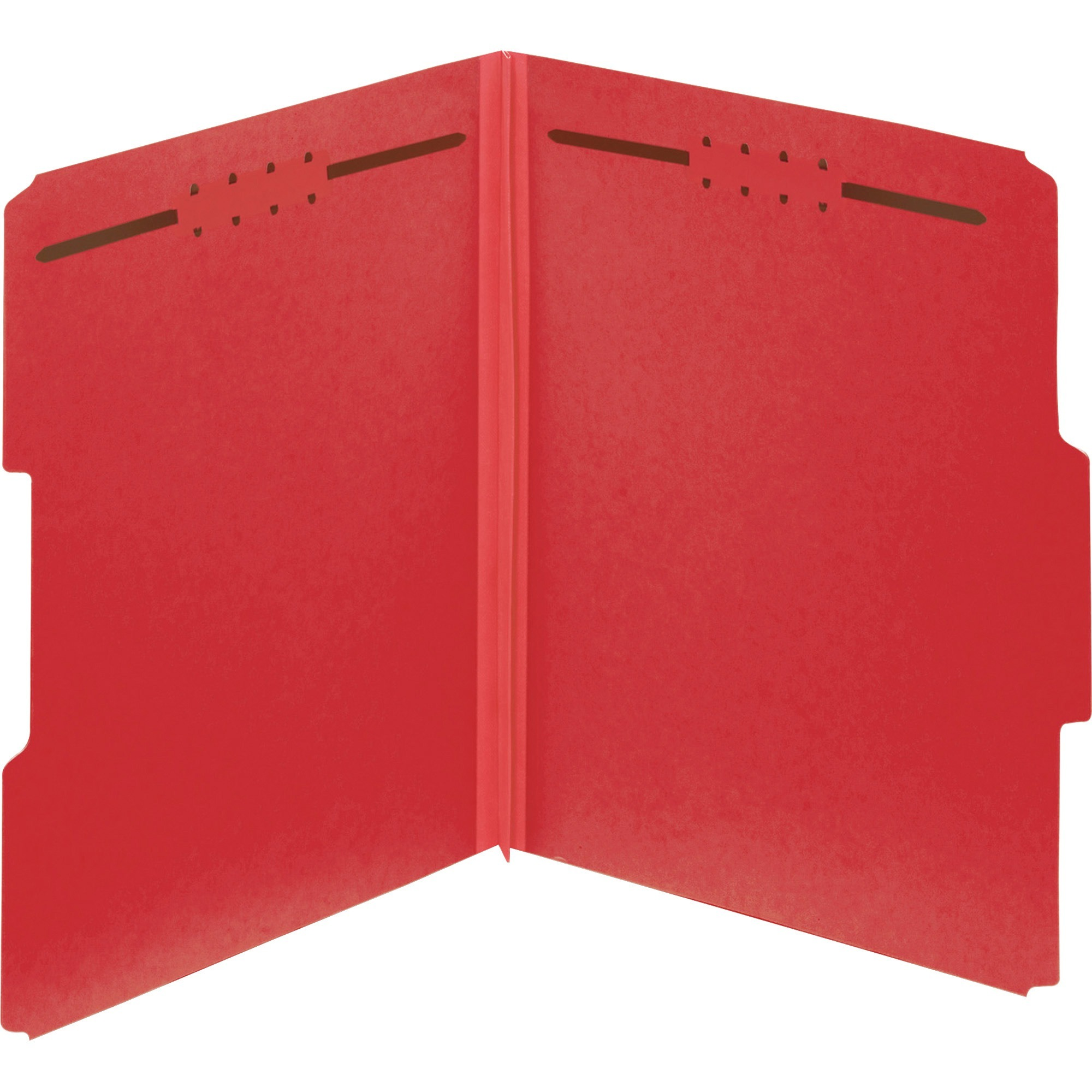 Pendaflex, PFX15936GW, Colored Pressboard Fastener Folders, 25 / Box, Bright Red