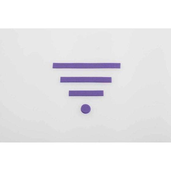 Wilton Decorator Preferred Fondant, Purple, 24oz