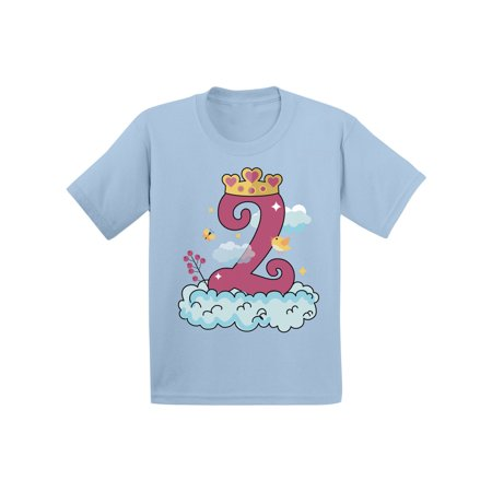 Awkward Styles Princess Toddler Shirt Birthday Girl Tshirt Princess Party for Girls Little Princess Shirt 2nd Birthday Party Princess Gifts for 2 Year Old Girl Girls Birthday Outfit Princess T - Unique Gifts For 2 Yr Old Girl