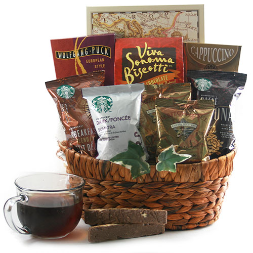 Daily Grind - Coffee Gift Basket