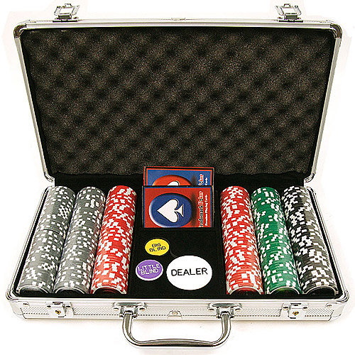 Trademark Poker 300 15 Gram Clay Welcome To Las Vegas Chip Set with Aluminum Case