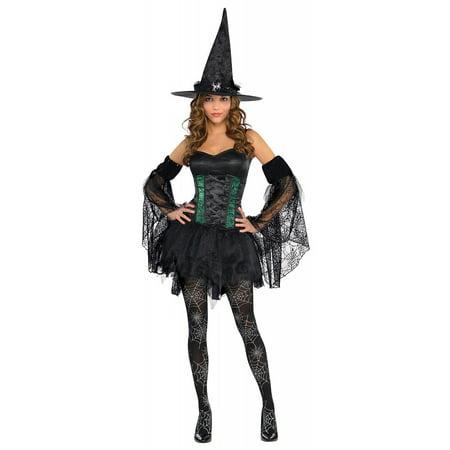 Black Petticoat Dress Adult Costume - Standard