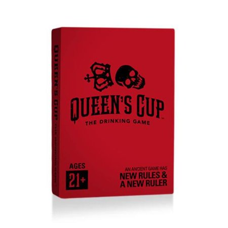 Halloween Parties In Queens Ny 2017 (Queens Cup QCD036 Red & Black Card Deck Party Game,)