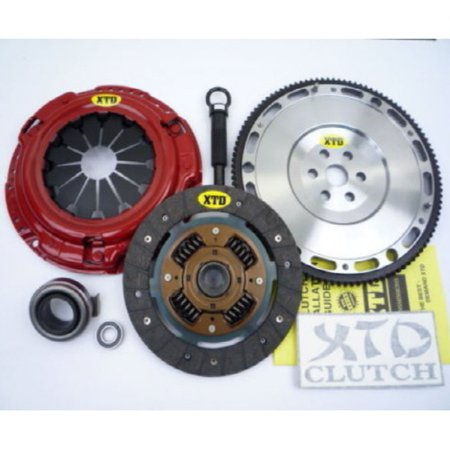 XTD STAGE 1 CLUTCH & 10LBS FLYWHEEL KIT HONDA CIVIC DEL SOL D15 D16 D17 -