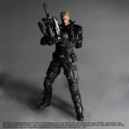 Deus Ex: Human Revolution Lawrence Barrett Play Arts Kai Action