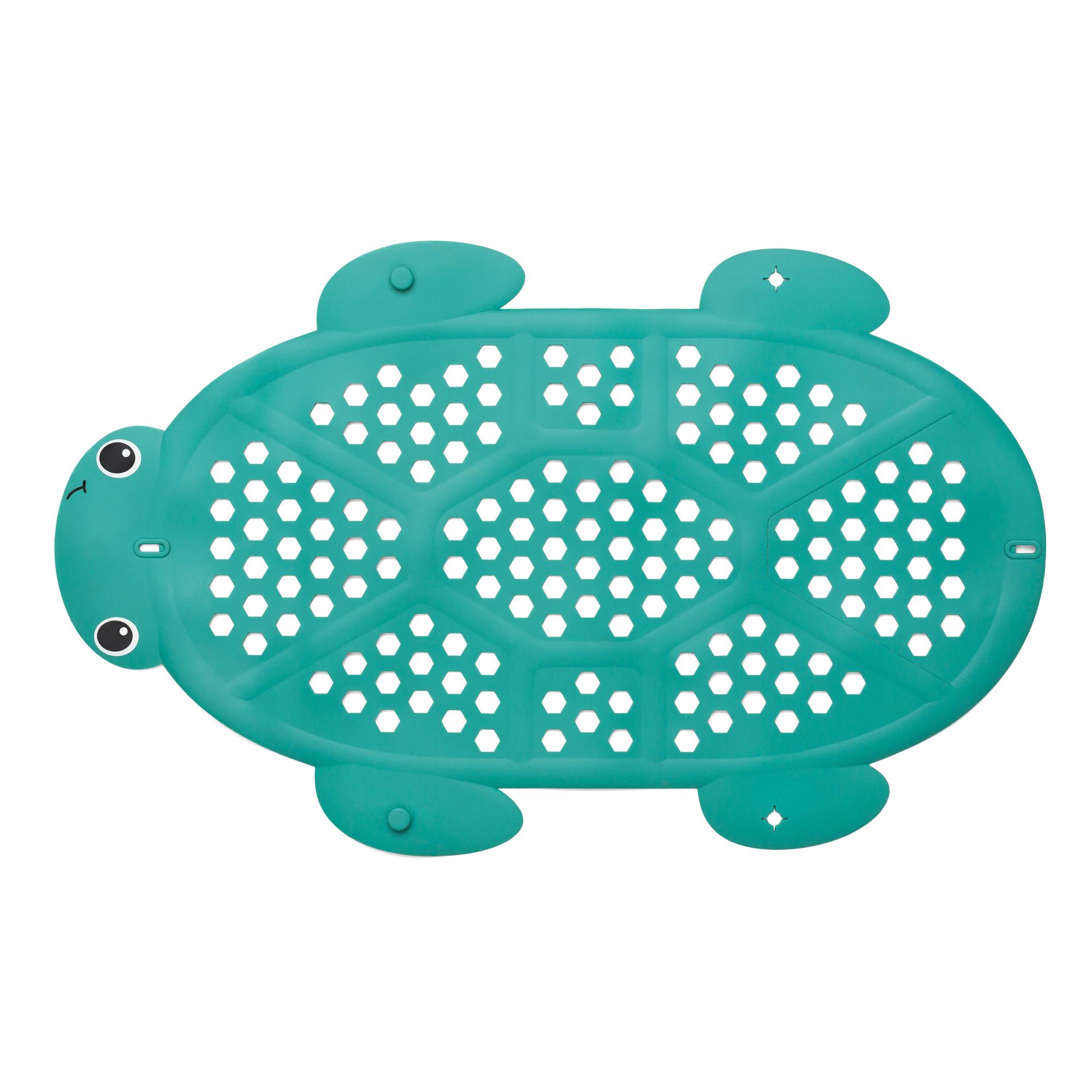 Infantino Tidy Turtle Bath Mat & Storage Basket