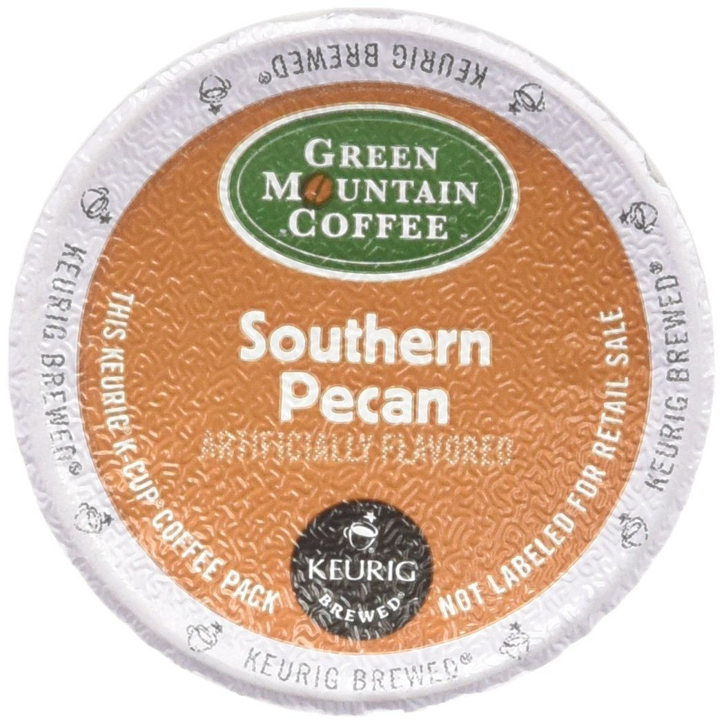 Green Mountain Coffee, Southern Pecan, K-Cups for Keurig Brewers, 24-Count Boxes (Pack of 2)