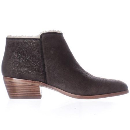 35a04ae94 Sam Edelman - Womens Sam Edelman Petty Short Fleece Lined Ankle Boots -  Coffee Leather - Walmart.com