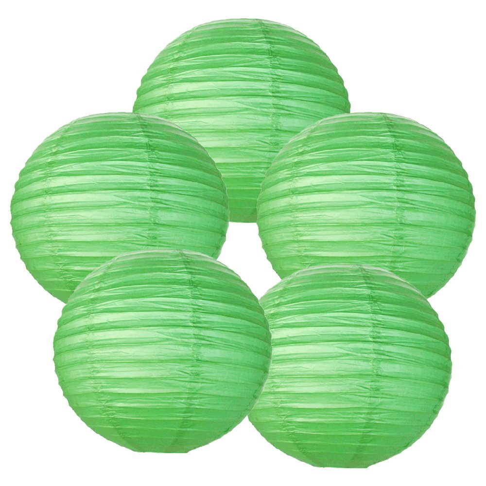 Paper Lanterns - Rice Paper Chinese/Japanese Hanging Decorations - For Home Decor, Parties, and Weddings