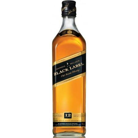 johnnie walker black label blended scotch whisky 1l. Black Bedroom Furniture Sets. Home Design Ideas