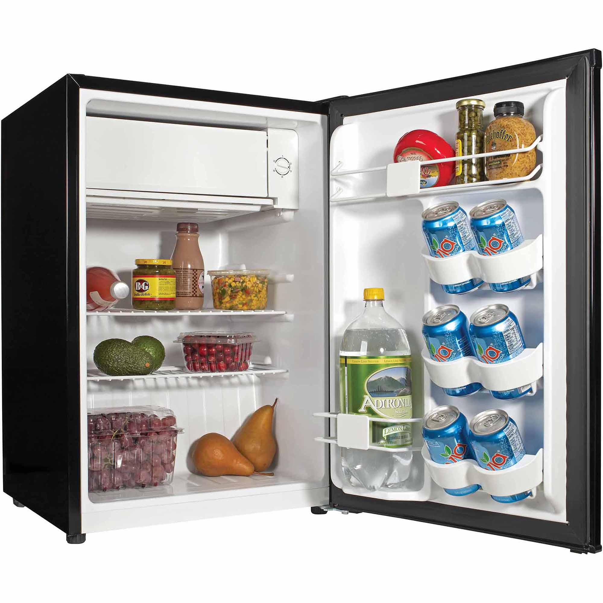 Haier 2 7 Cu Ft Single Door Compact Refrigerator Hc27sw20rb Black