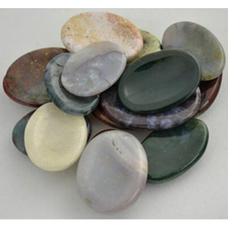 Worry Stones (Jasper Worry stone - various Colors &)