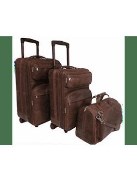 Leather Three Piece Set Traveler