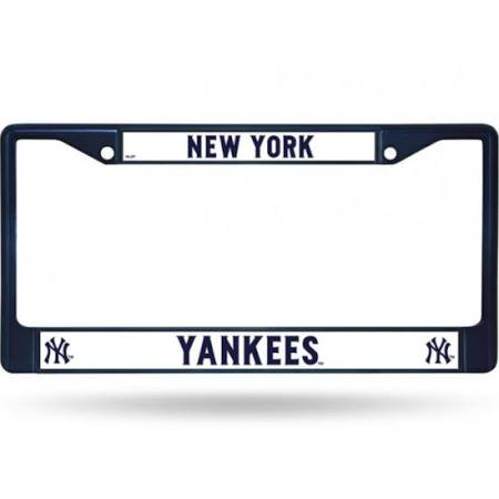 Rico Industries MLB Color License Plate Frame, New York Yankees