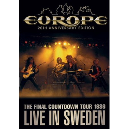 Europe: The Final Countdown Tour Live In Sweden 1986 (DVD)