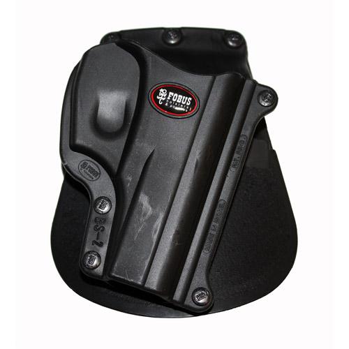 FOBUS STANDARD PADDLE BERSA THUNDER 380 RIGHT HAND PLASTIC BLACK