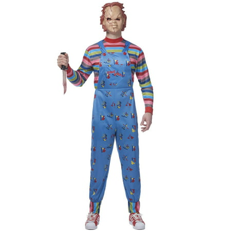 2017 Chucky Adult Costume](Seed Of Chucky Costume)