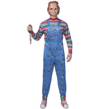 2017 Chucky Adult Costume - Jimmy Halloween 2017
