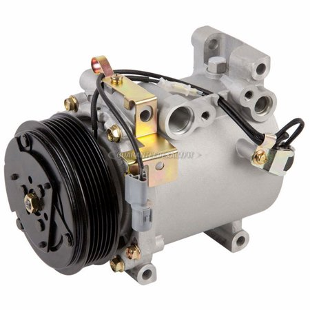 AC Compressor & A/C Clutch For Mitsubishi Lancer 2003 2004 -
