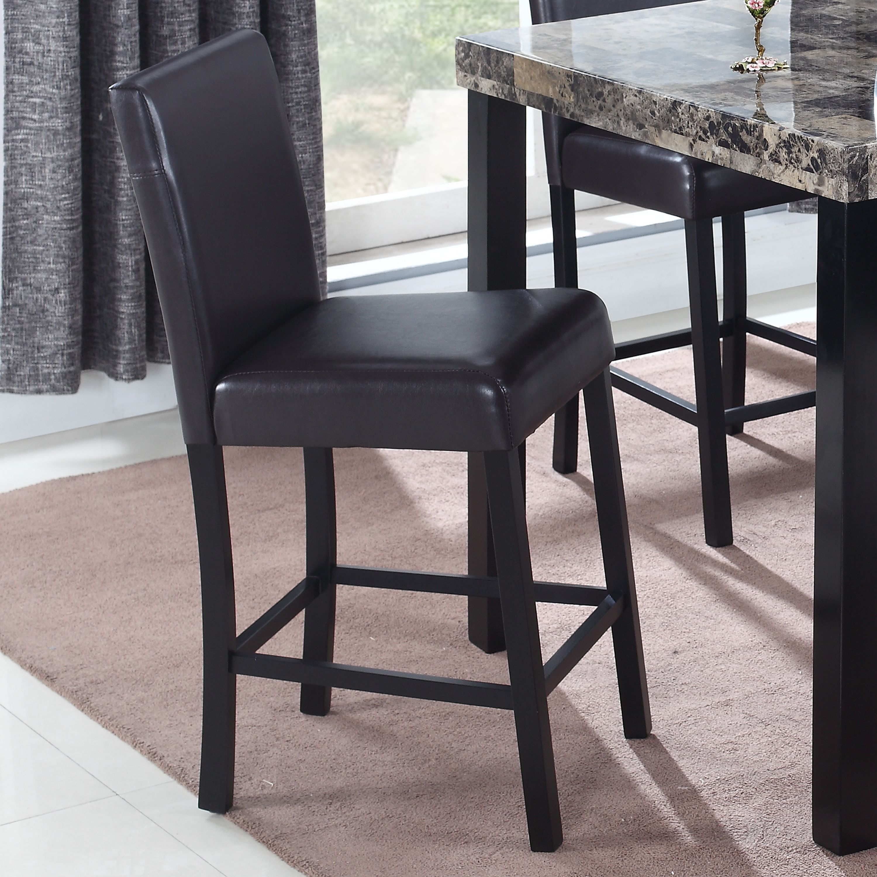 Best Master Furniture's Britney Counter Height Stool, Set of 2