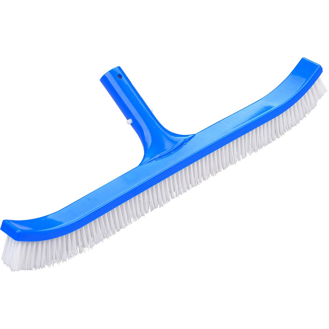 "Aqua First Curved 18"" Pool Brush for Swimming Pool Walls and Floors with Nylon Fiber Bristles, Lightweight Frame"