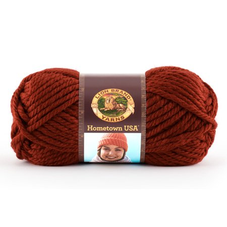 Dk Weight Sock Yarn - Lion Brand Yarns Hometown USA Acrylic Tampa Size Classic Bulky Yarn, 1 Each