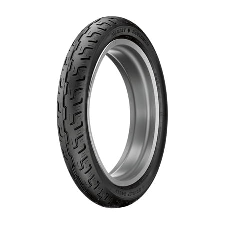 130/90B-16 (73H) Dunlop D401 Front Motorcycle Tire Black Wall for Indian Chief Blackhawk Dark 2011