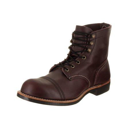 Red Wing Shoes Men's Iron Ranger Oxblood Boot 9 5 Men US