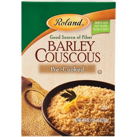 - (2 Pack) Roland Barley Couscous, 17.6 Oz