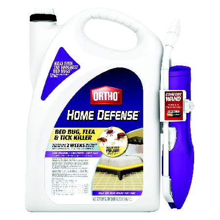 Ortho Home Defense Bed Bug Flea and Tick Killer (Best Rat Killer On The Market)