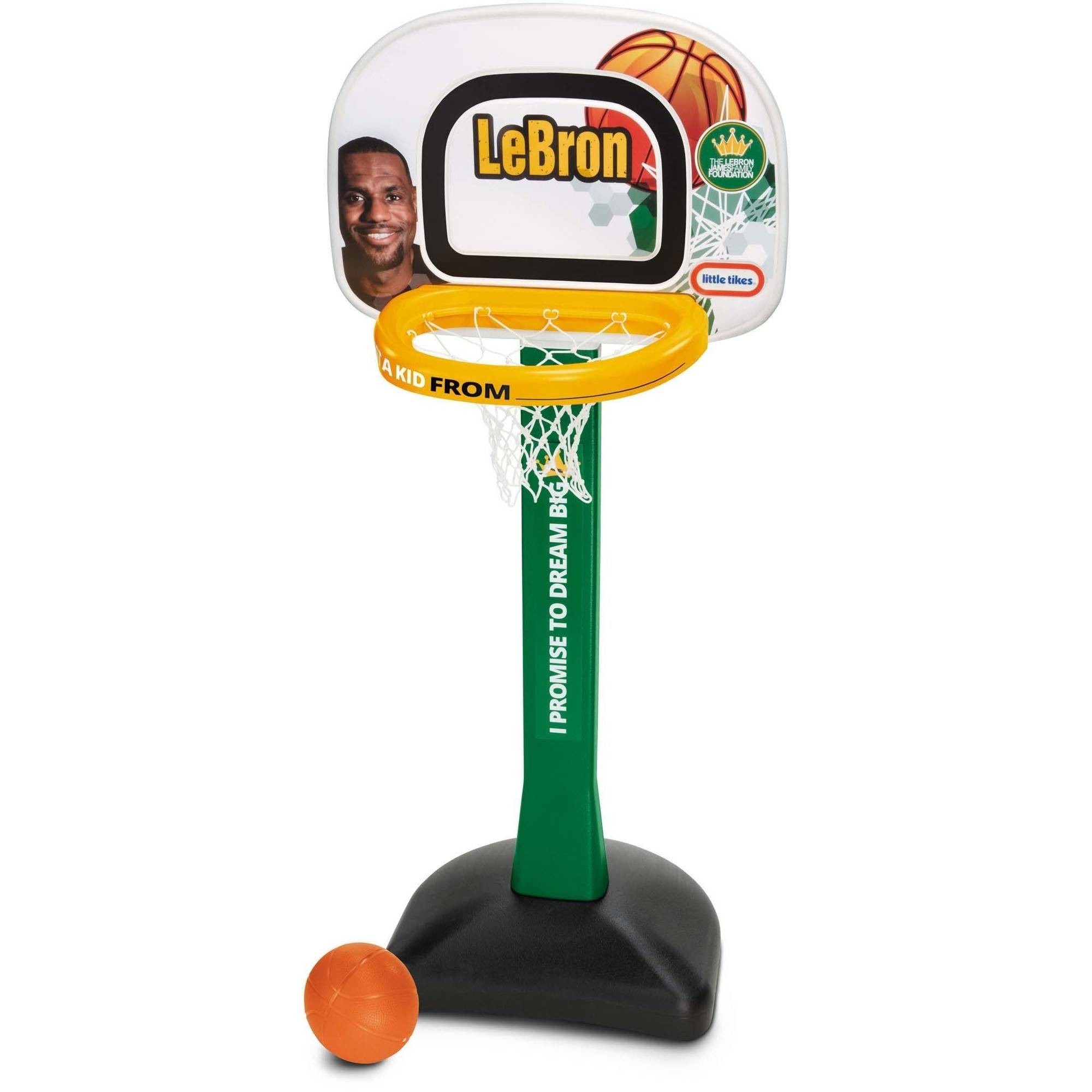 Little Tikes LeBron James Family Foundation Mini Hoop Basketball Set ...
