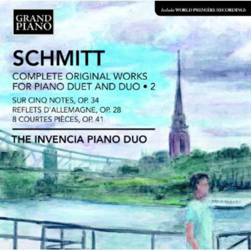 F. Schmitt - Florent Schmitt: Complete Original Works for Piano Duet and Duo, Vol. 2 [CD]
