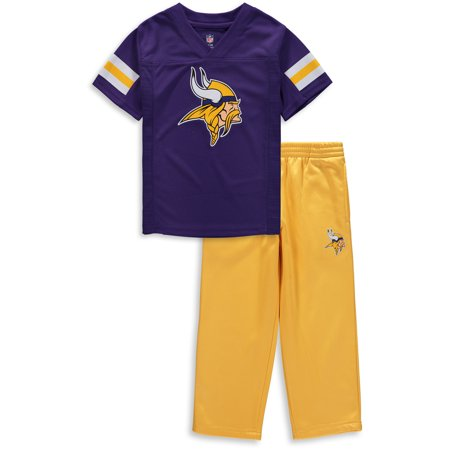 Minnesota Vikings Toddler Training Camp Pants & T-Shirt Set -
