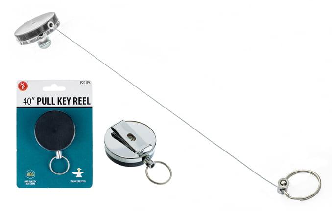 "10 x ID Badge Holder Retractable Reel 2"" Key Clip Nurse Name Card Wholesale New by SONA ENTERPRISES"