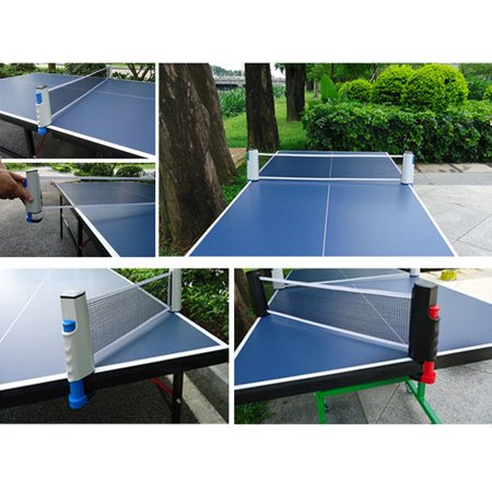 Plastic Strong Mesh Net Retractable Table Tennis Table Grid Portable Net Kit - image 6 of 6